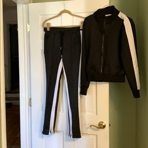 Theo and Spence Track Suit Size Largw